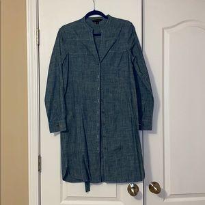 Brooks Brothers denim tunic size 8